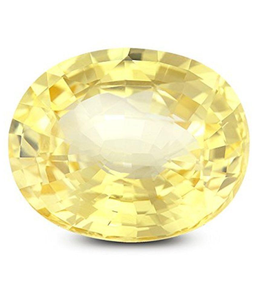 Crafty Soul Design 6 - 6.5 -Ratti IGL&I Yellow Sapphire (Pukhraj)