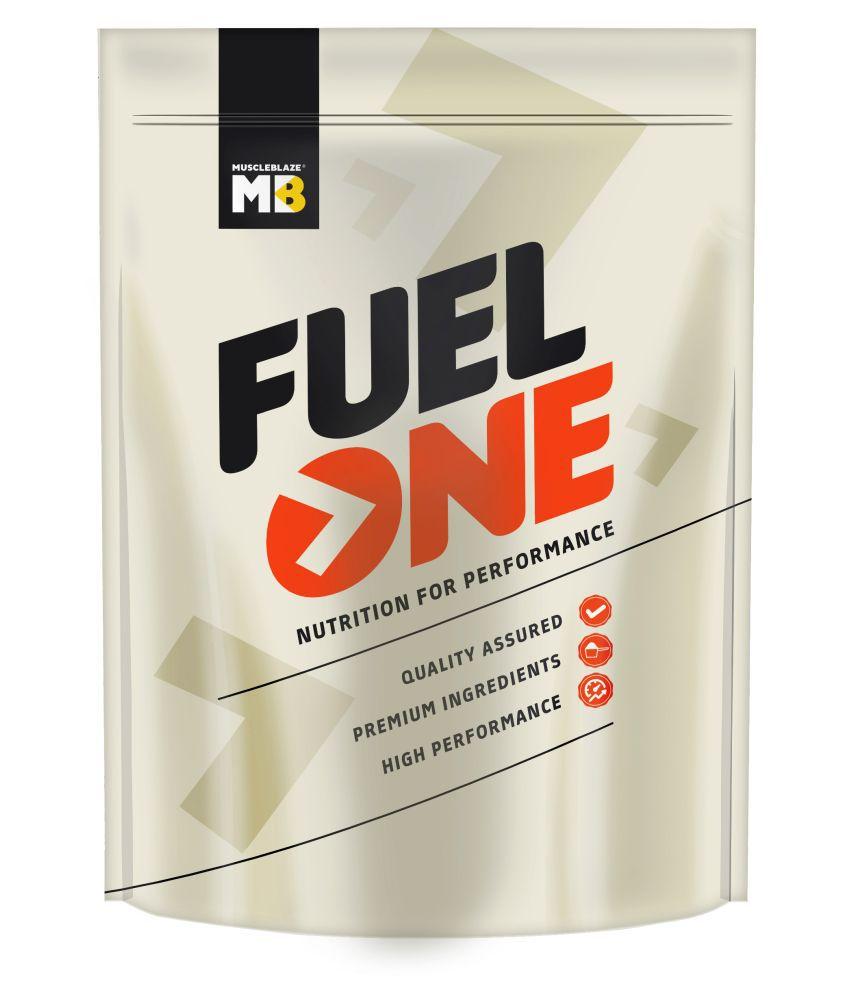 MuscleBlaze  Fuel One Mass Gainer Immunity+,Chocolate 750 gm Mass Gainer Powder