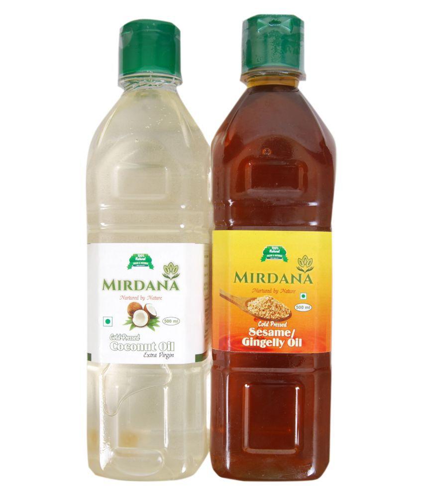 Mirdana Virgin Coconut Oil 1 L Pack of 2