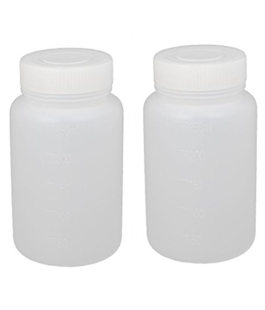 REAGENT BOTTLES ( WIDE MOUTH )  PACK OF 12  PCS