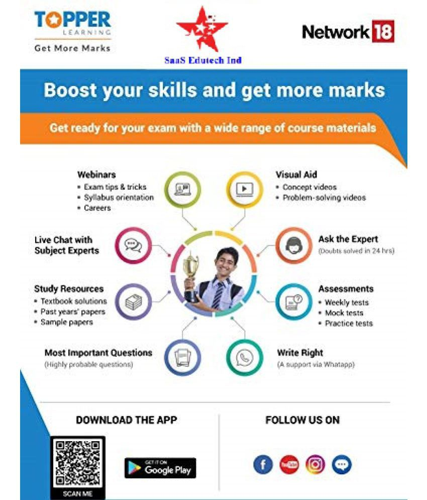 ONLINE DELIVERY VIA EMAIL - TopperLearning 1 Year Online Course for NEET 2021 Online Study Material