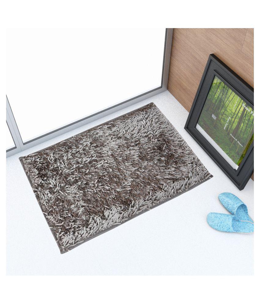 Sheen Decor Gray Single Anti-skid Floor Mat
