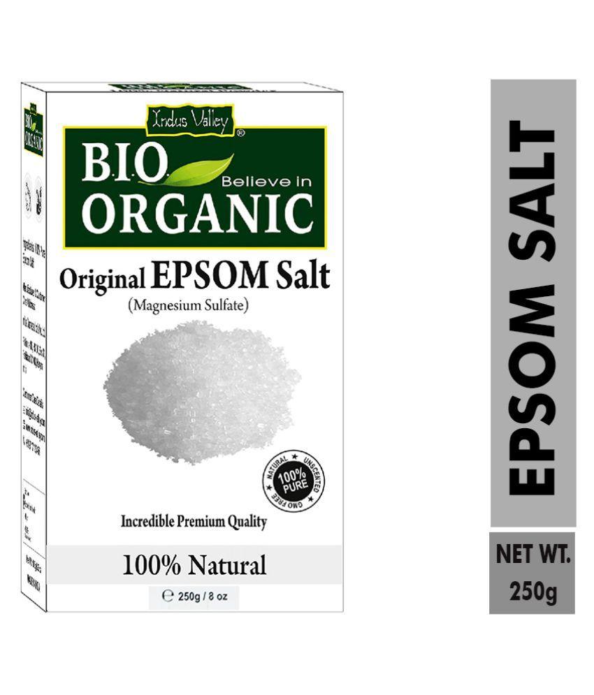 Indus Valley Epsom Salt Crystal Salt 250 g