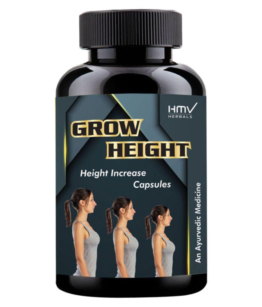 HMV Herbals Grow Height Herbal Height Growth Capsule 30 no.s Pack Of 1