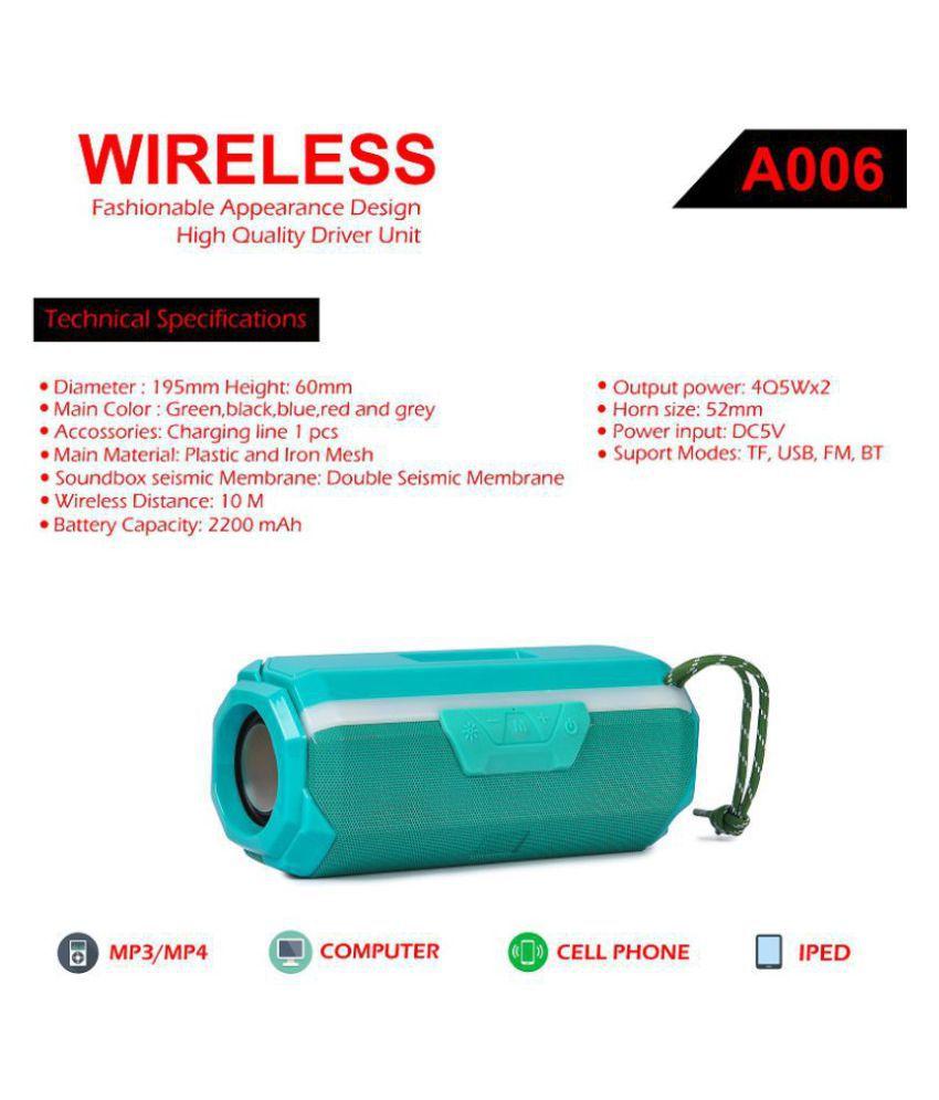 PHONETRONIC A006 Led Bluetooth Speaker