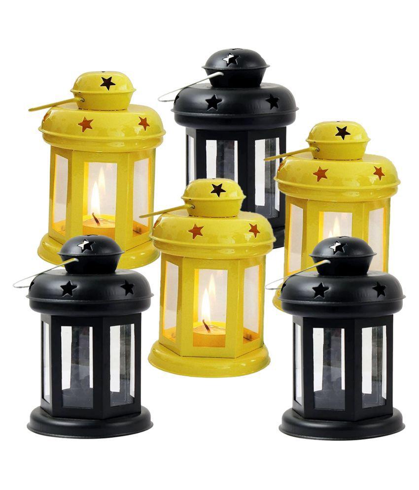 designer international Designer International Decorative Lantern Hanging Lanterns 15 - Pack of 6