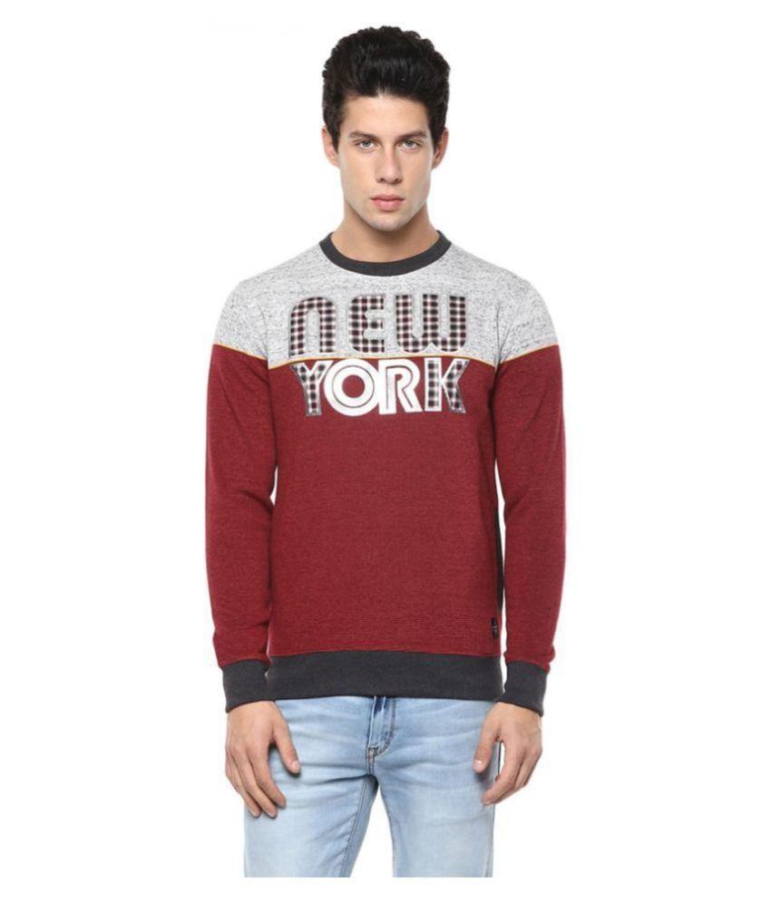AXMANN Red Sweatshirt