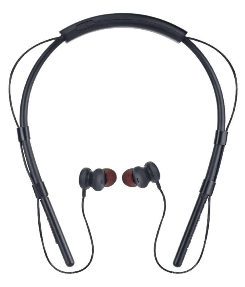 iBall Earwear BasePro Neckband Wireless With Mic Headphones/Earphones