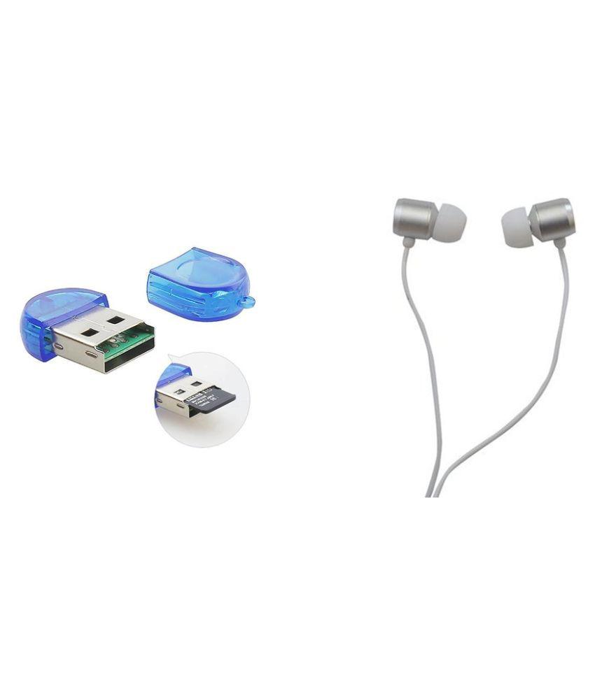 minifox 2 Multicolour 2.0 Card Reader Vh130 Wired Earphone