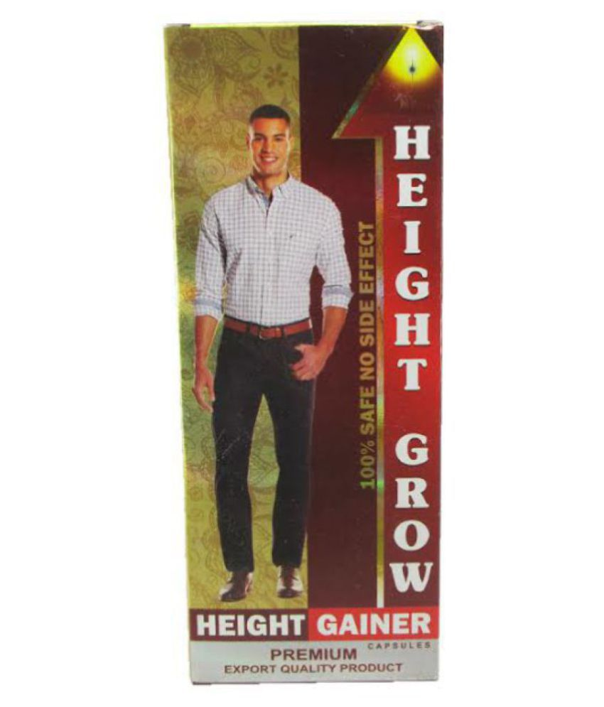 Dr Chopra Height Grow (Increase Height Naturally) Capsule 60 no.s Pack Of 2