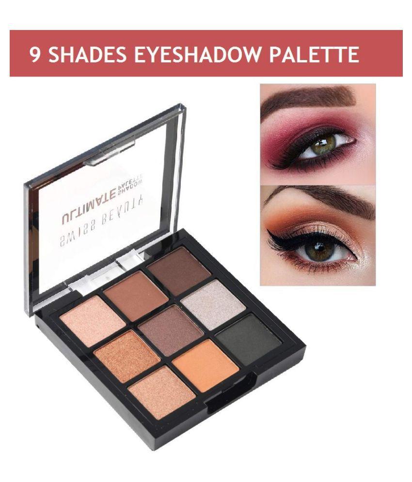 Swiss Beauty 9 shade Makeup Palette