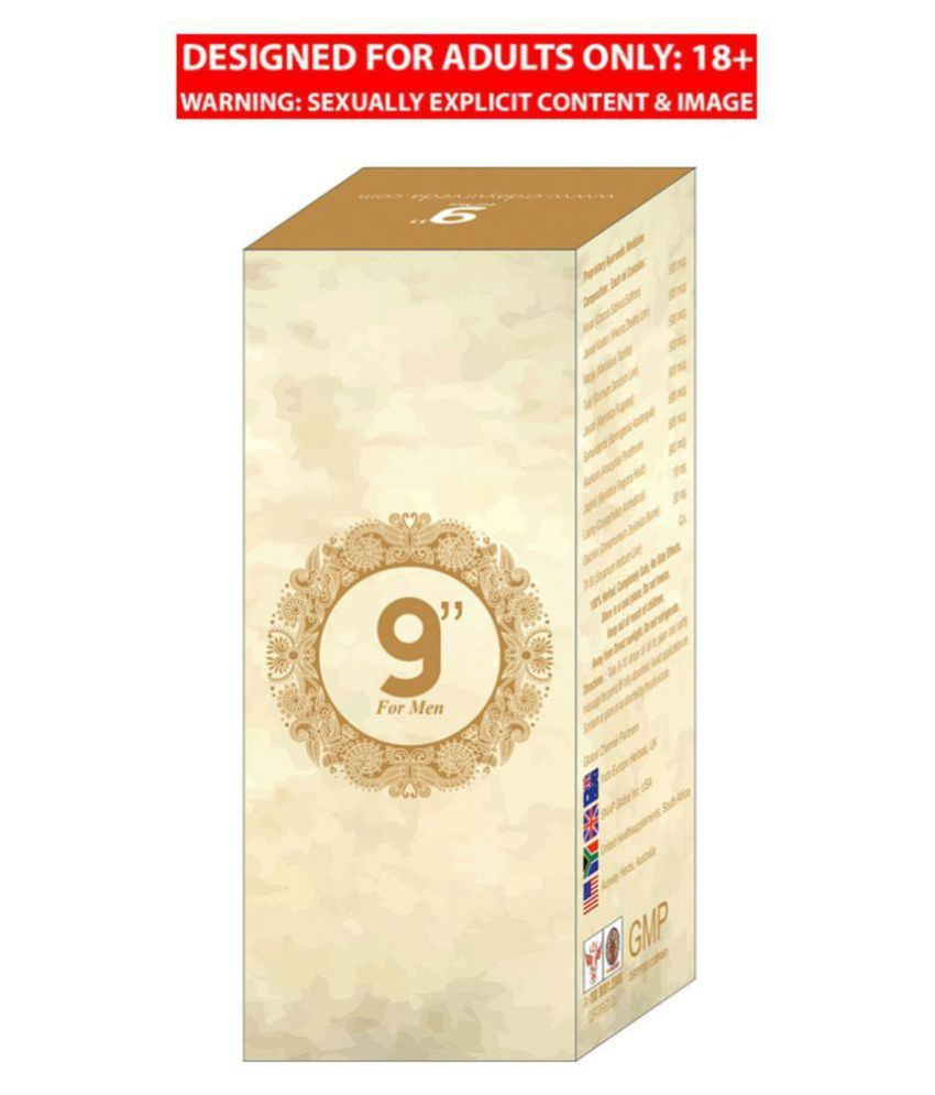 9 Inch Size, Time and Power Booster for Men(15 ML Oil Pack)