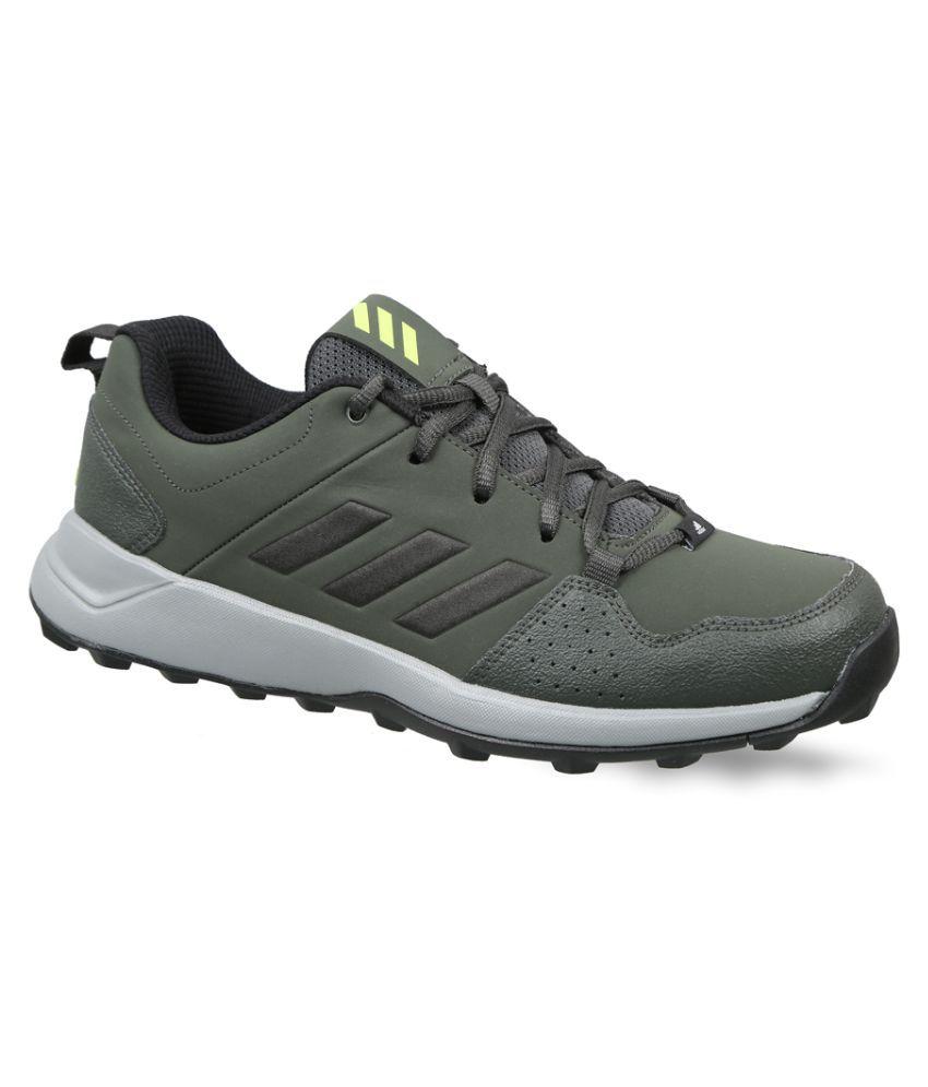 Adidas HGV83 Green Hiking Shoes