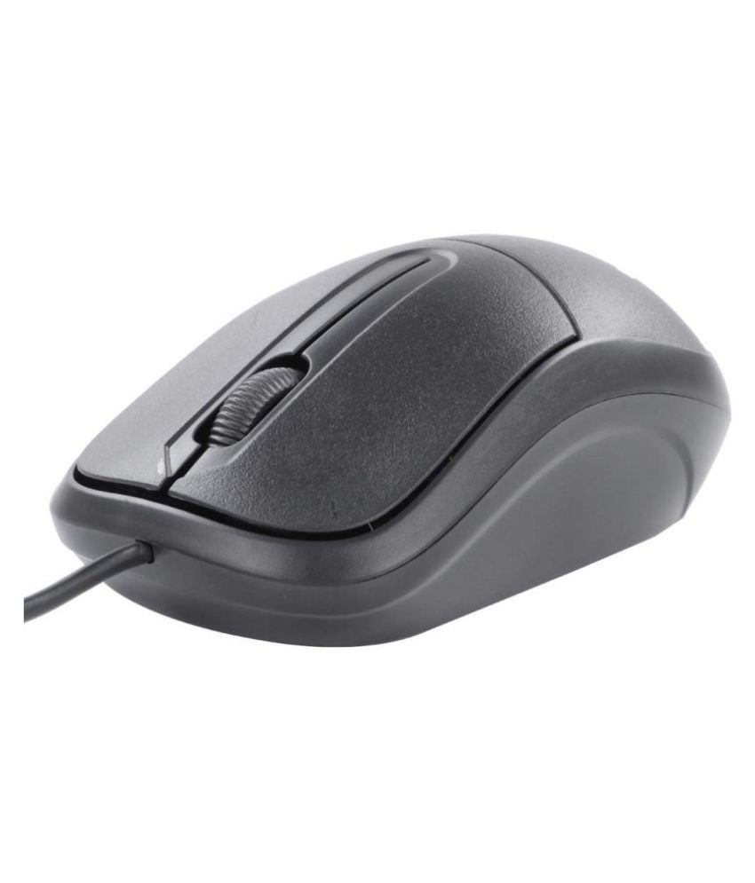 Zebronics USB Comfort Wired Optical Mouse ZEB COMFORT + Black USB Wired Mouse HIGH PRECISION