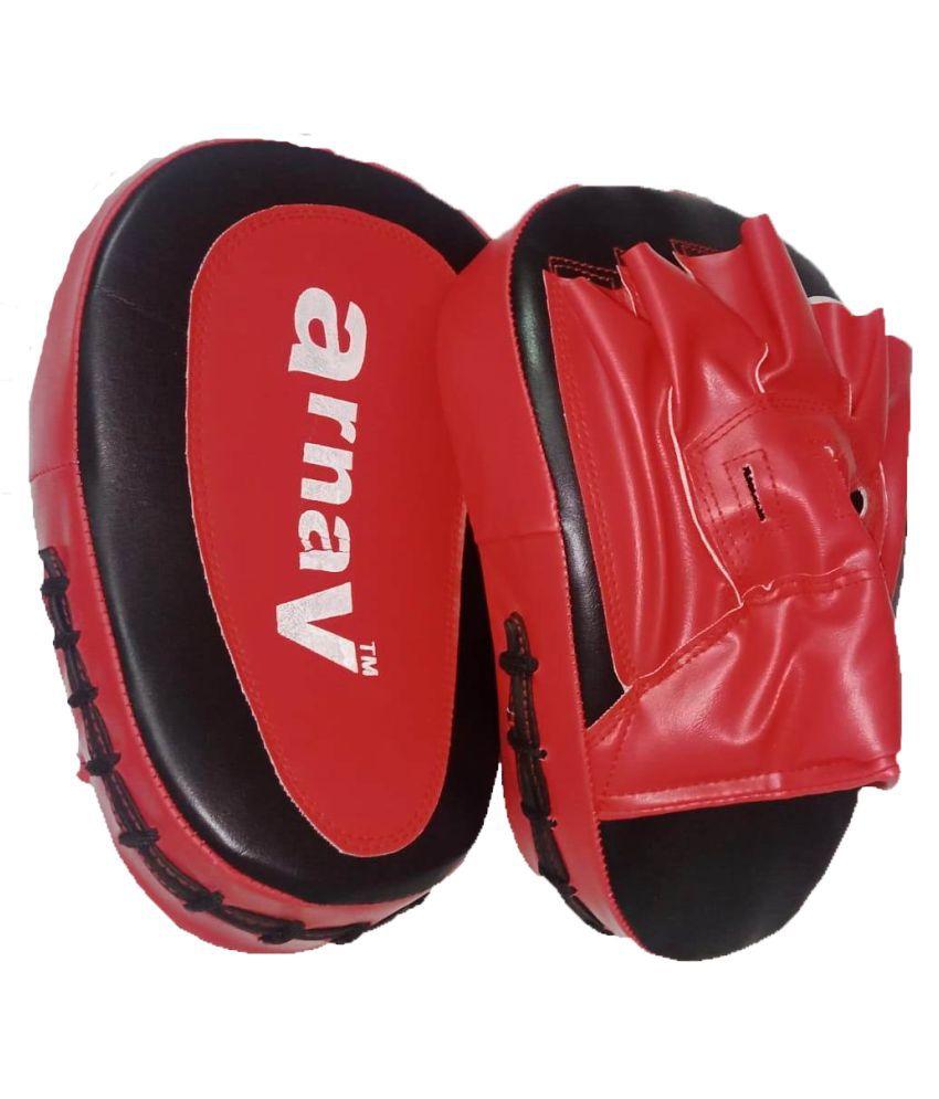 Arnav Focus Pad Curved for Taekwondo/Kick boxing/Combat Sports/Karate/Muay Thai/MMA/Vovinam/Kicking Target
