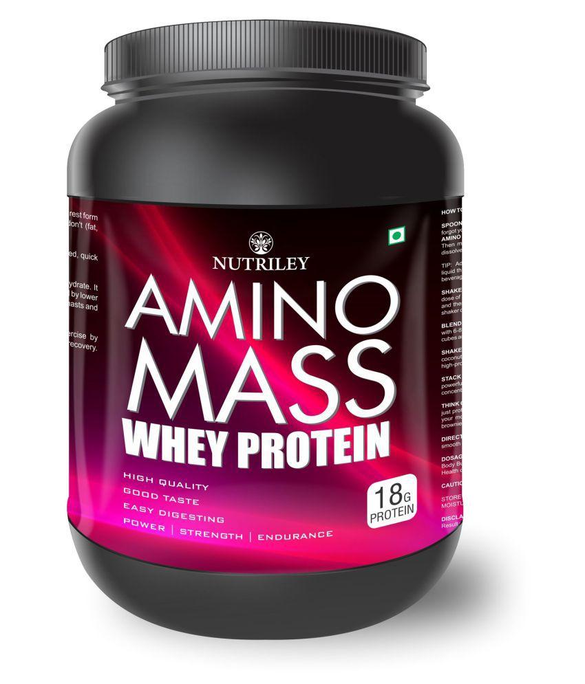 CRD Ayurveda Amino Mass-Whey Protein (500 Gms)-Chocolate 1 gm