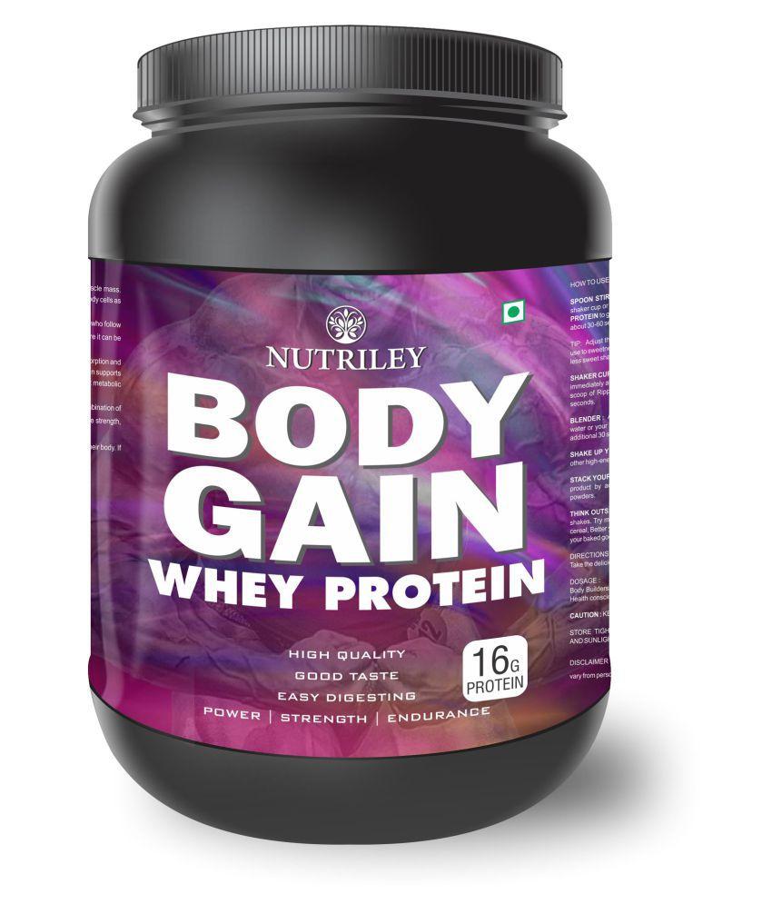 CRD Ayurveda Body Gain-Whey Protein (1 KG)-Chocolate 1 gm