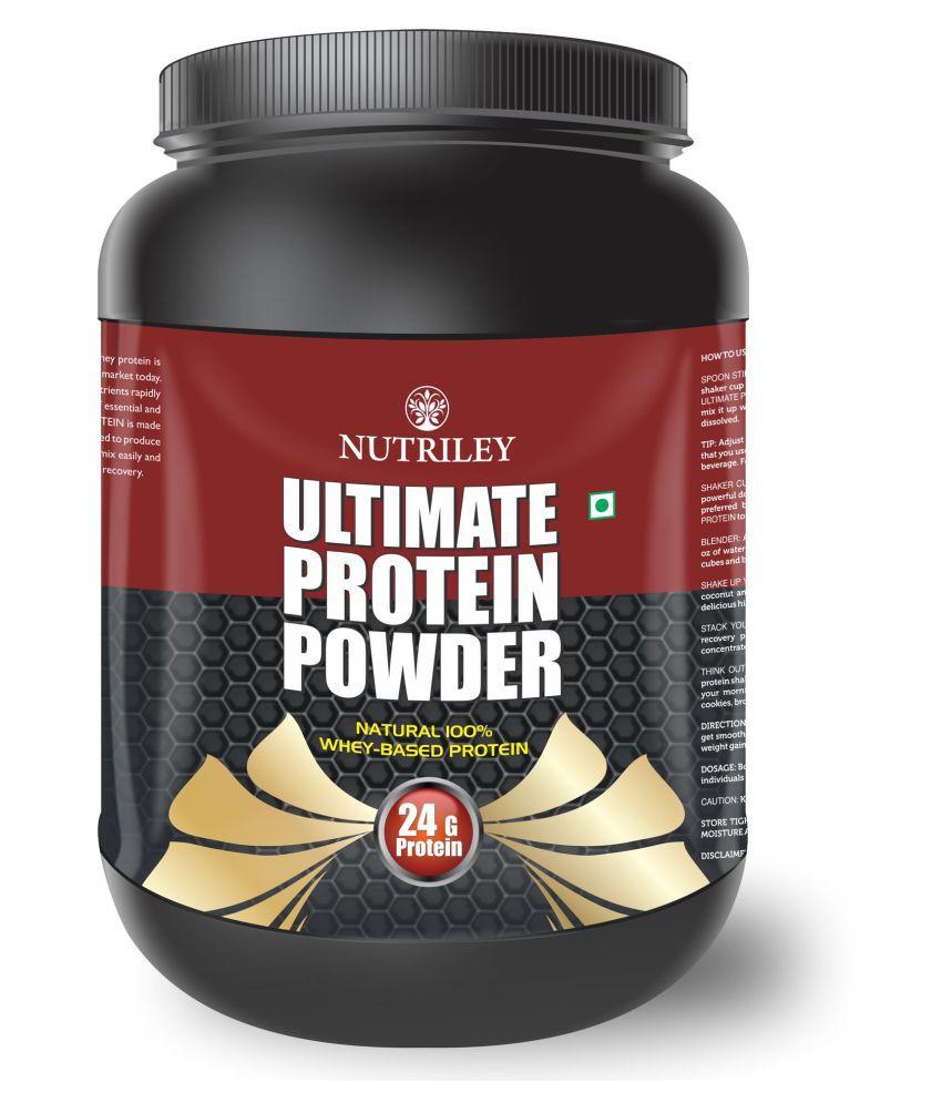 CRD Ayurveda Ultimate Protein-Whey Protein (1 KG)-Vanila 1 gm