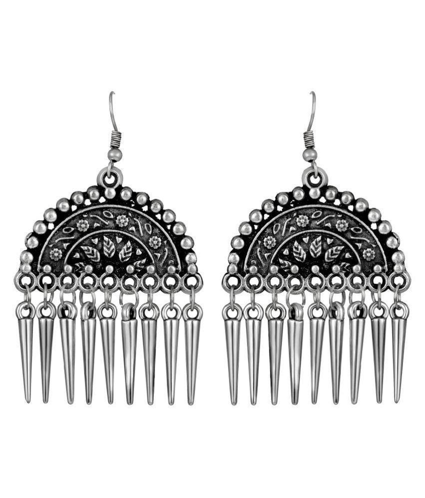 Shrishti Fashion Fancy Designer Matt Finish Dangle Earring For Women
