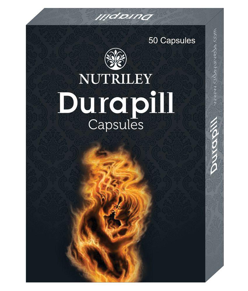Durapill Ayurvedic Capsules for Time Increase (50 Capsules)