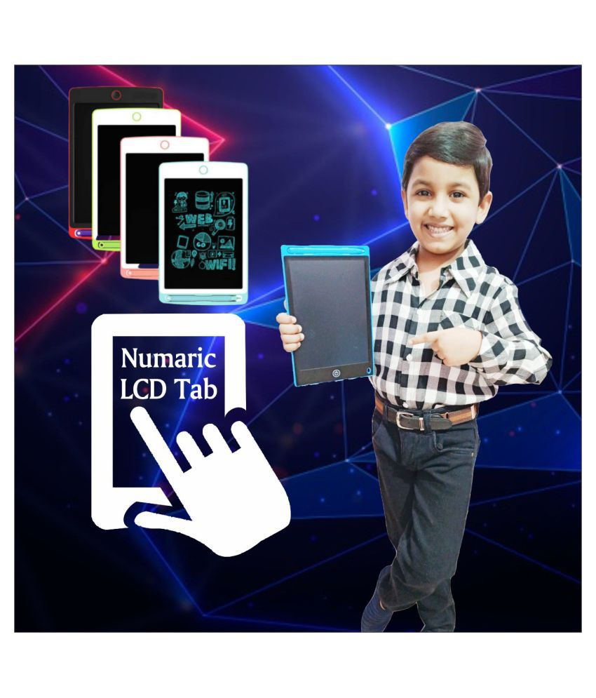Numeric Lcd Tab for Kids