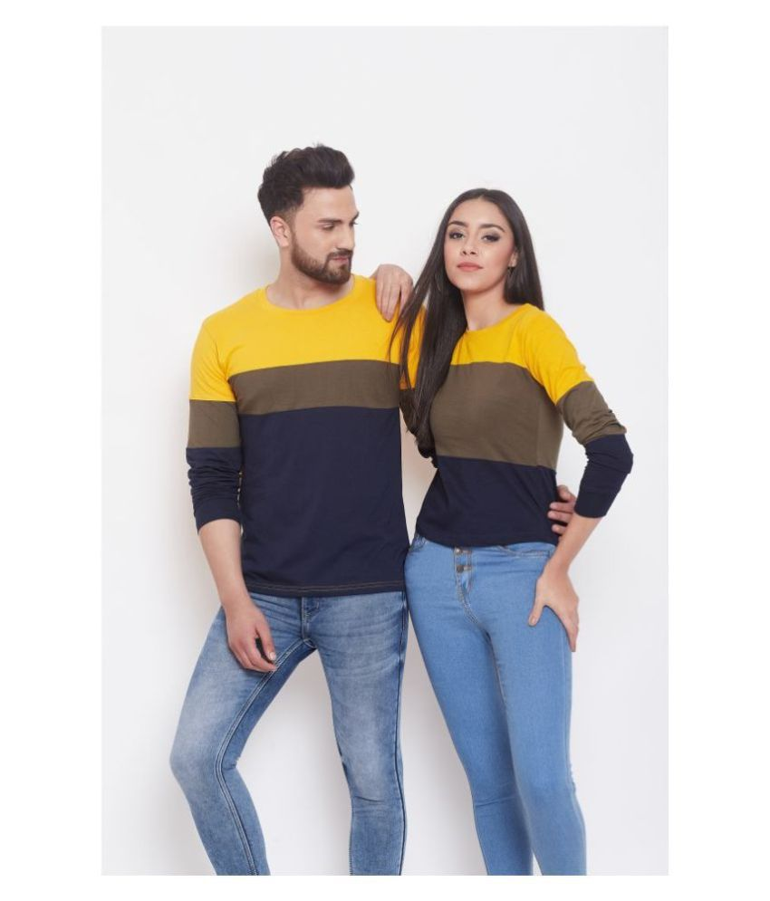 The Dry State Multi Color Cotton Couple Combo
