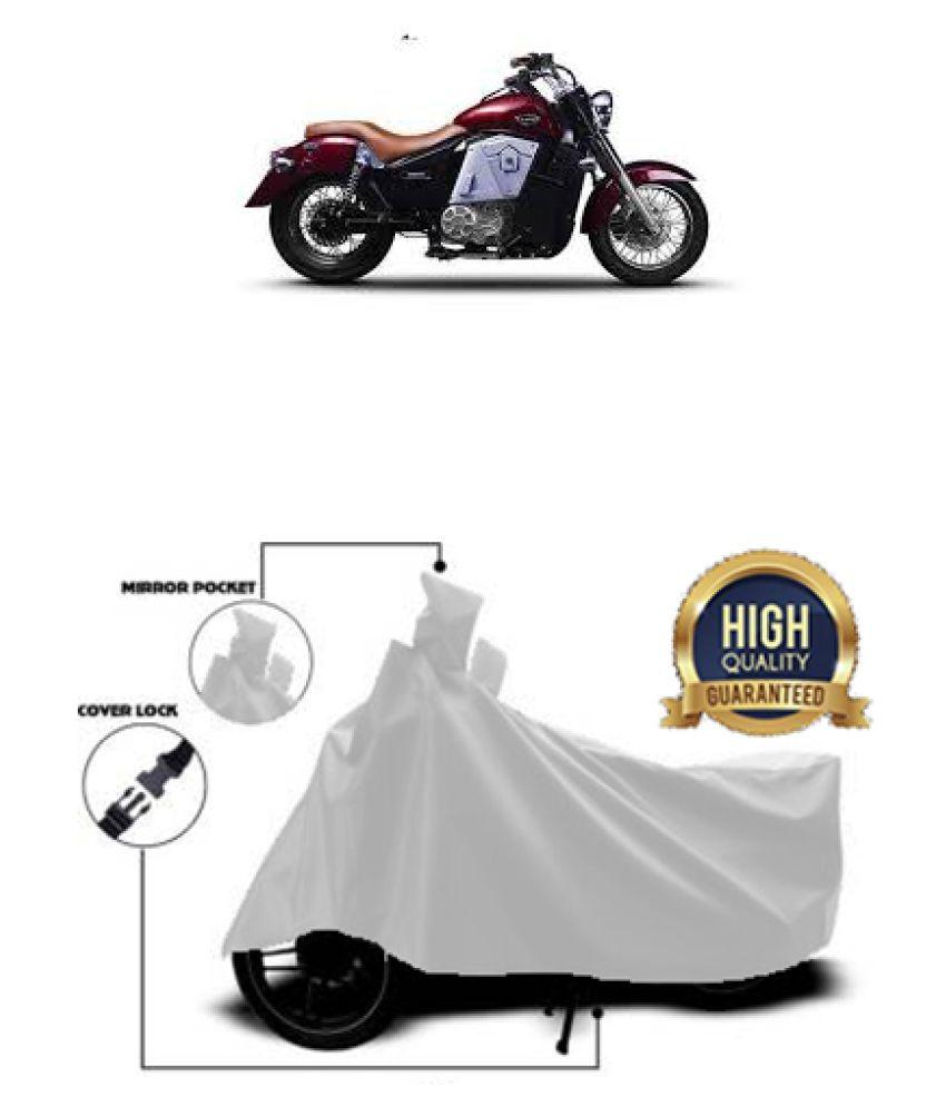 Motohunk two wheeler cover for UM Renegade Thor (Silver)