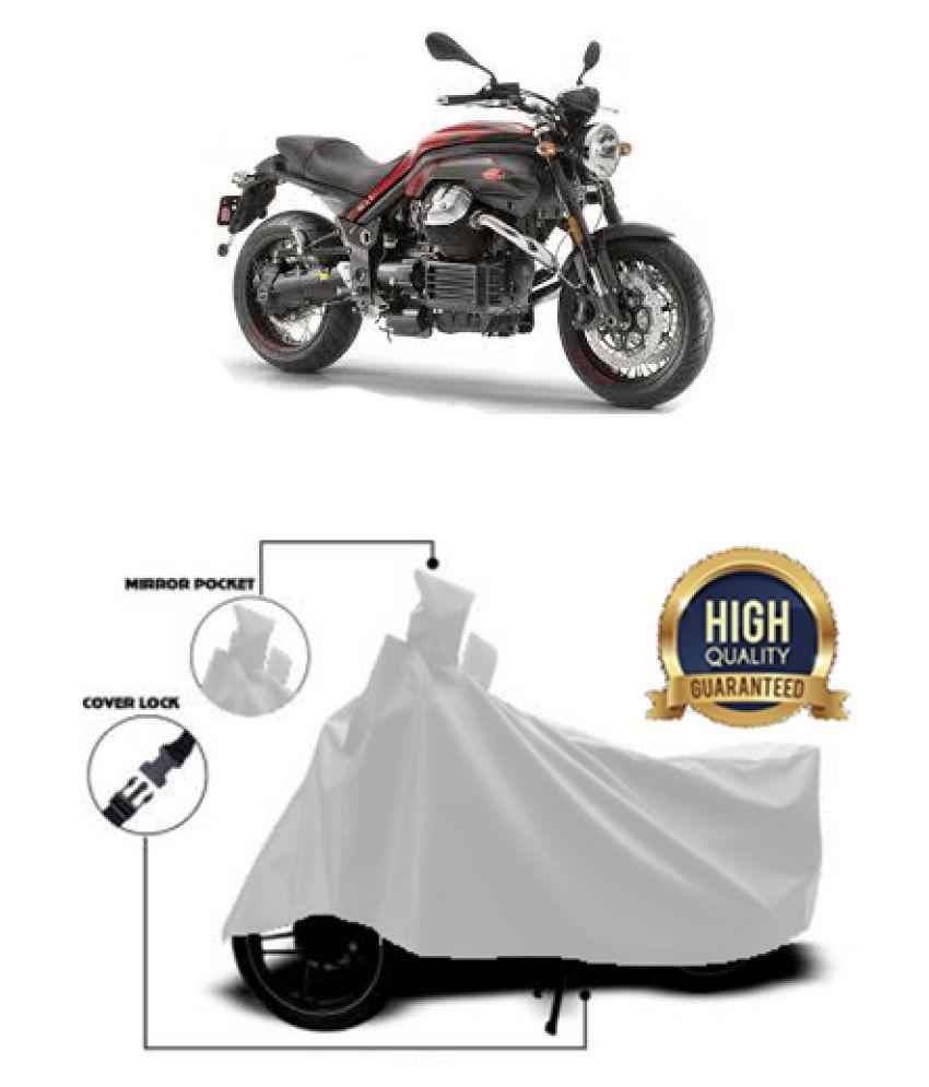 Motohunk two wheeler cover for Moto Guzzi Griso 8V SE (Silver)