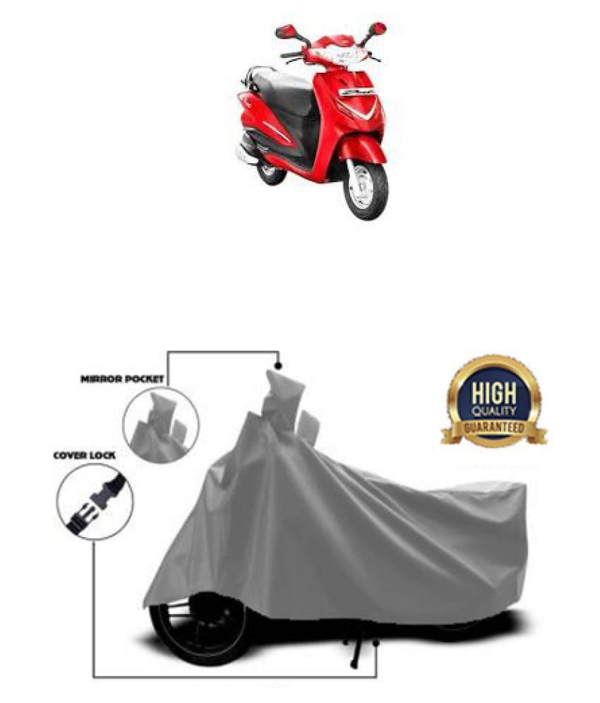 Motohunk two wheeler cover for Hero CORP DUET Grey