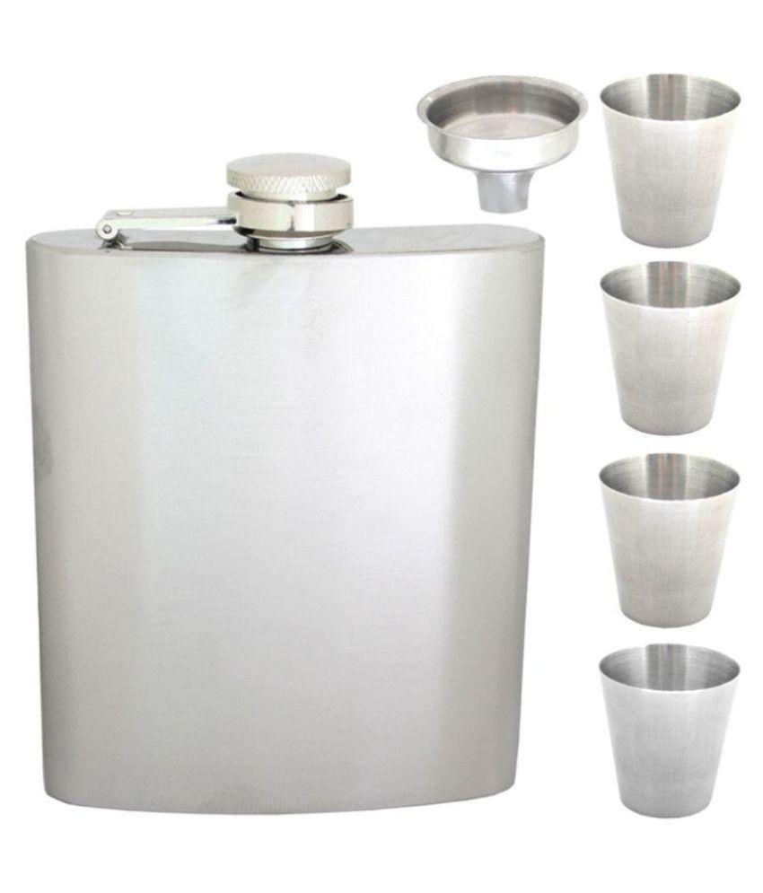 SJ Steel Hip Flask