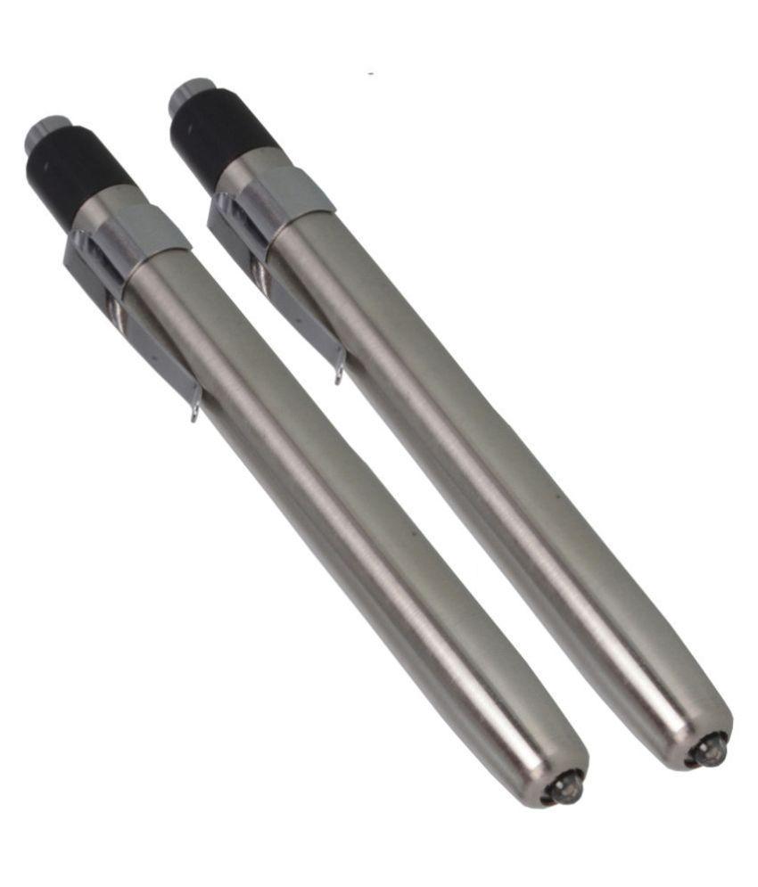 SJ 1W Flashlight Torch 2P Battery Power - Pack of 2