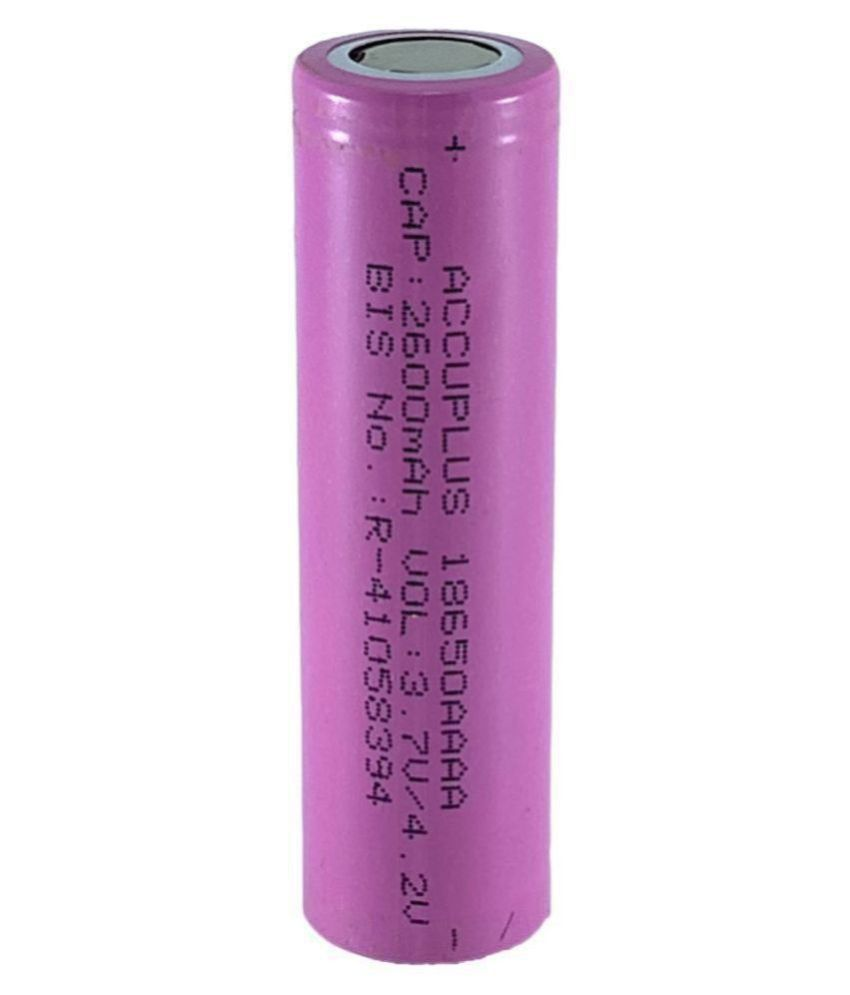 HUMSER Headless 3.7V 2600 MAH Rechargeable Battery 1