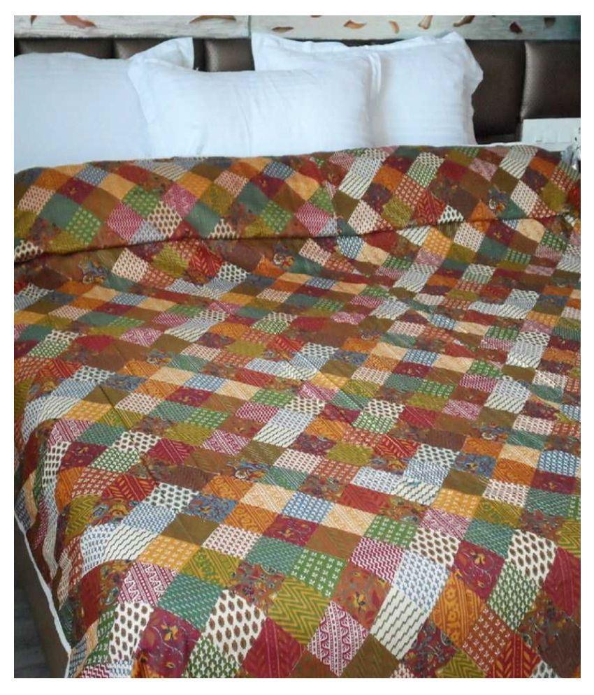Snuggle Double Cotton Contemporary Blanket