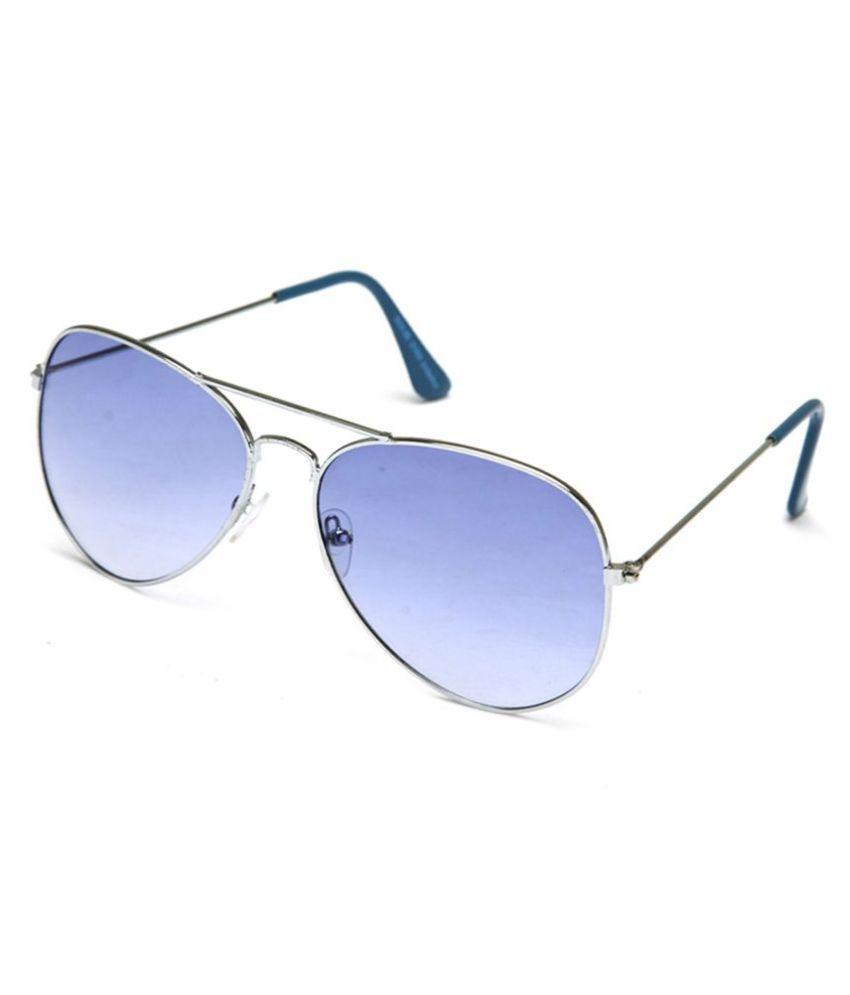 Barbarik - Blue Pilot Sunglasses ( sun27 )