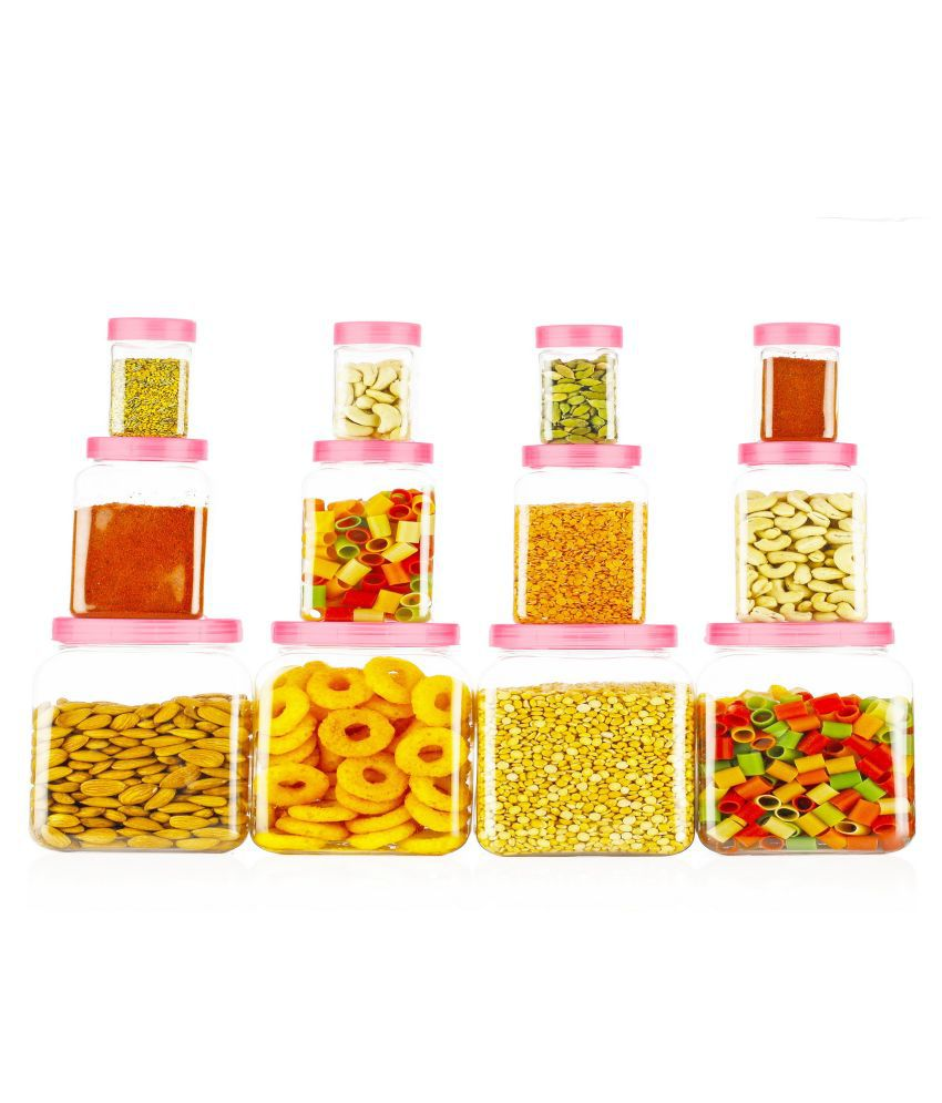 Nikunj Trading PET Food Container Set of 12 1200 mL: Buy ...