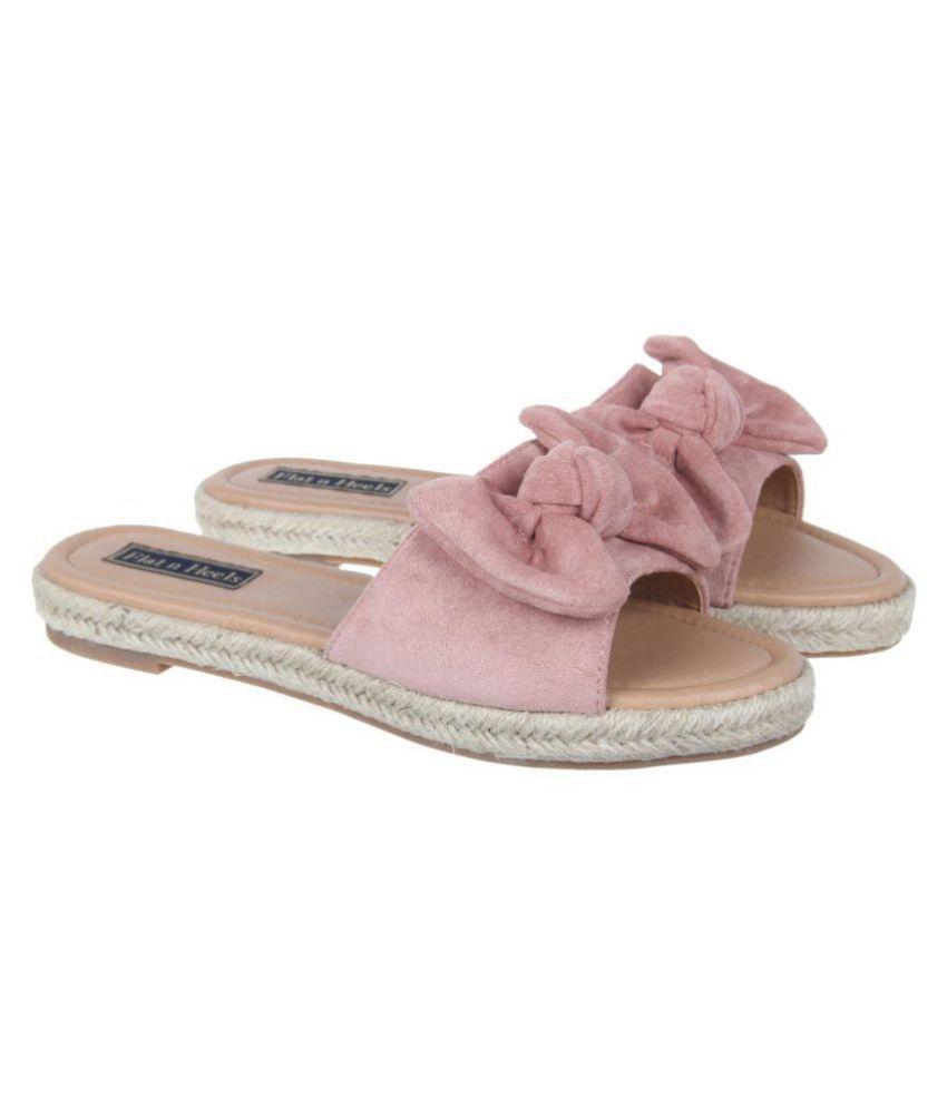 Flat N Heels Pink Flats