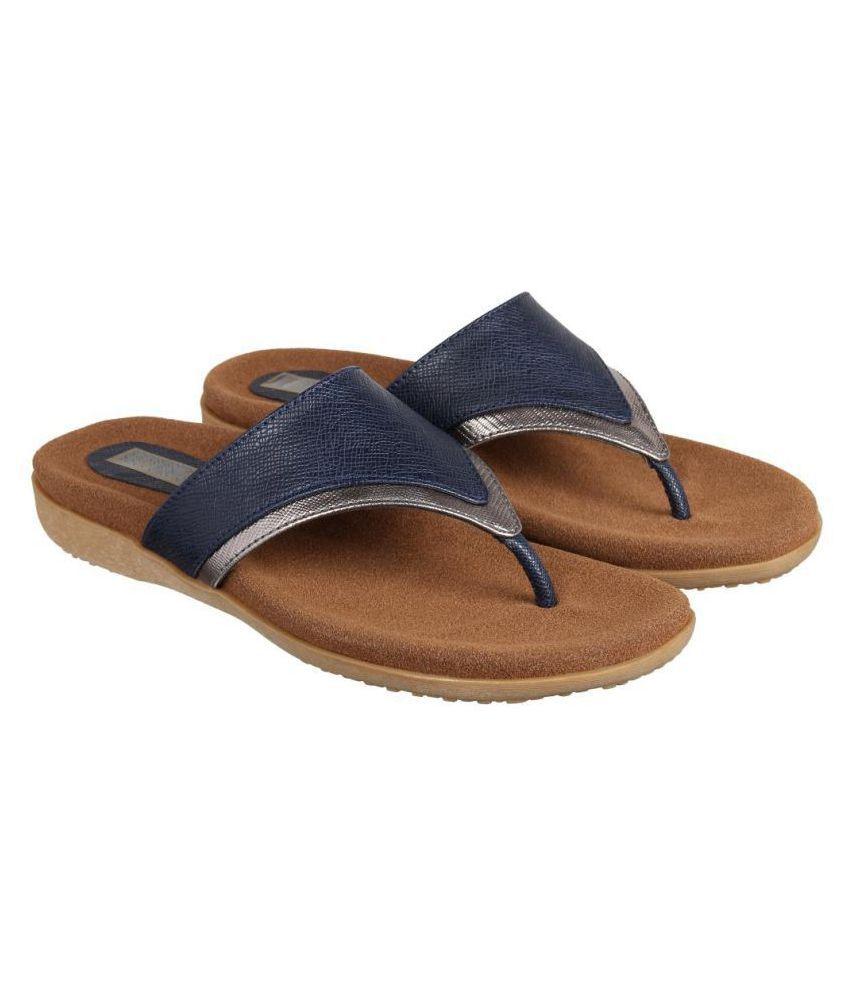 Flat N Heels Blue Flats