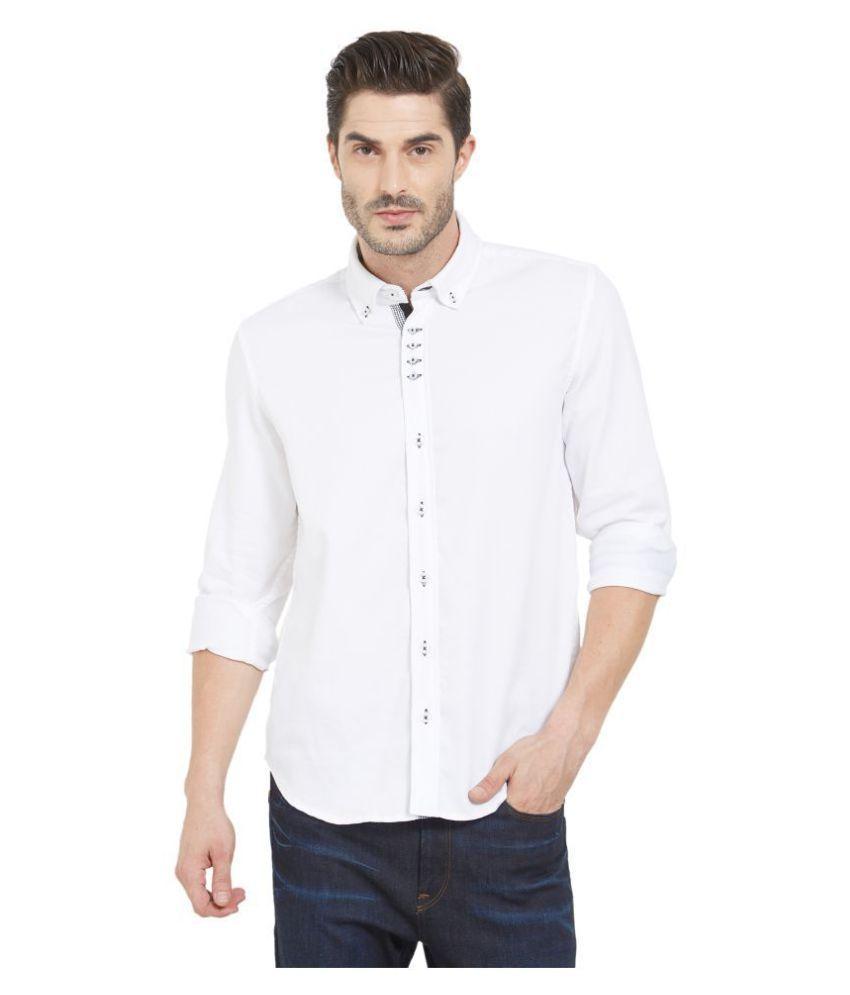 LION & HESS 100 Percent Cotton White Shirt