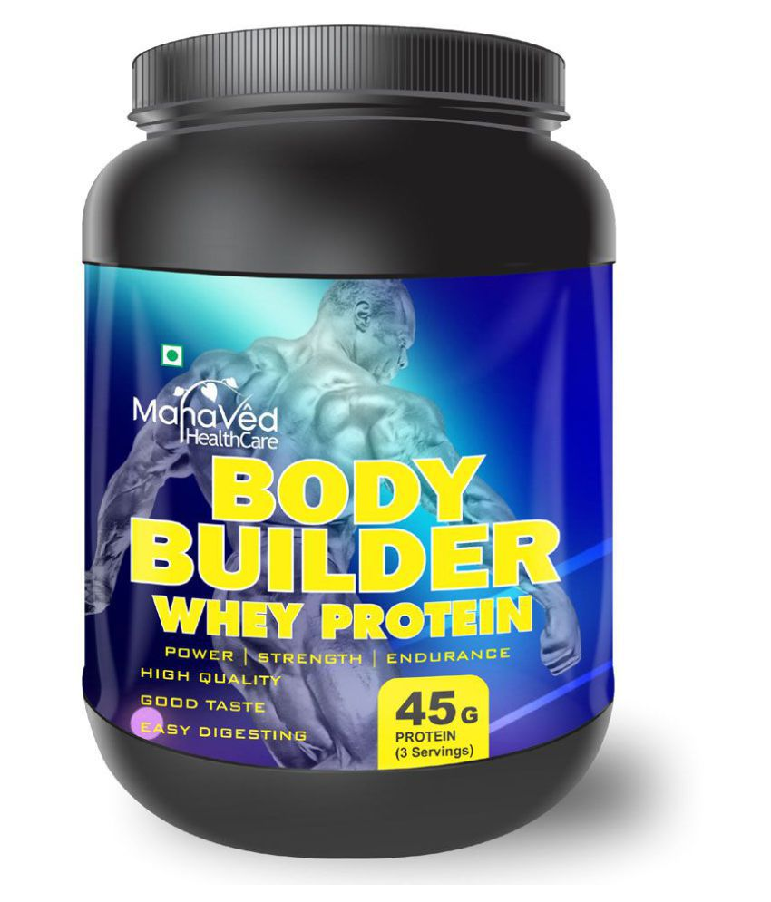 Mahaved Body Builder Whey Protein Supplement 500 gm