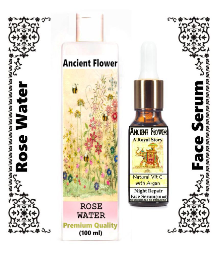 Ancient Flower - Rose Water & A Royal Story - Face Serum 110 mL