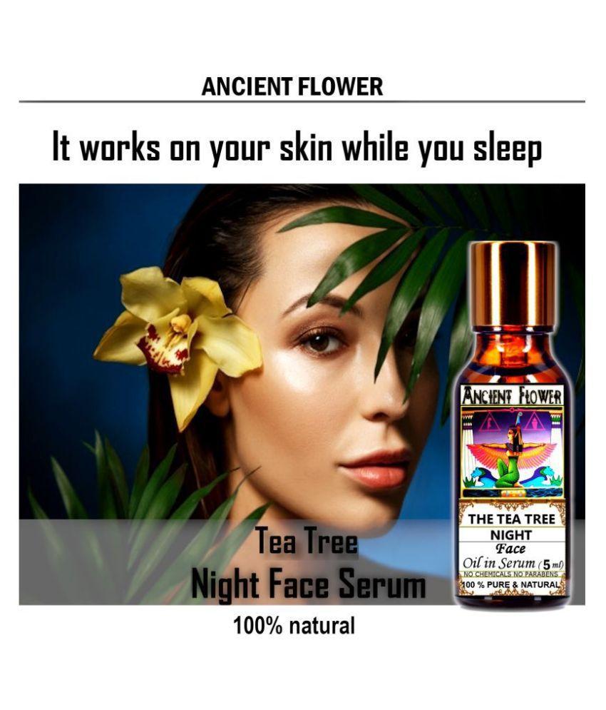 Ancient Flower - Tea Tree Night - Face Serum 5 mL