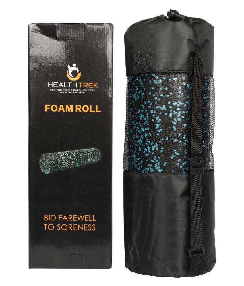 Healthtrek EPP Foam Roller for Exercises, Massage with Bag