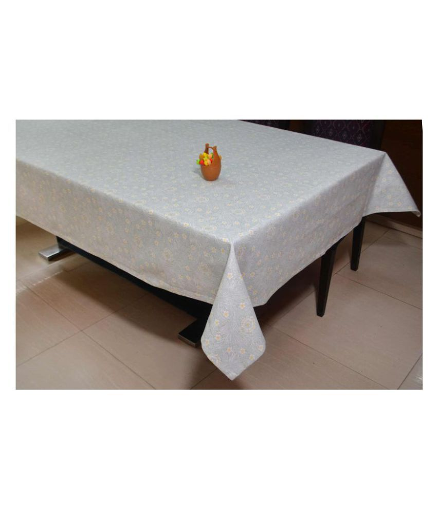 R home 8 Seater Cotton Single Table Covers