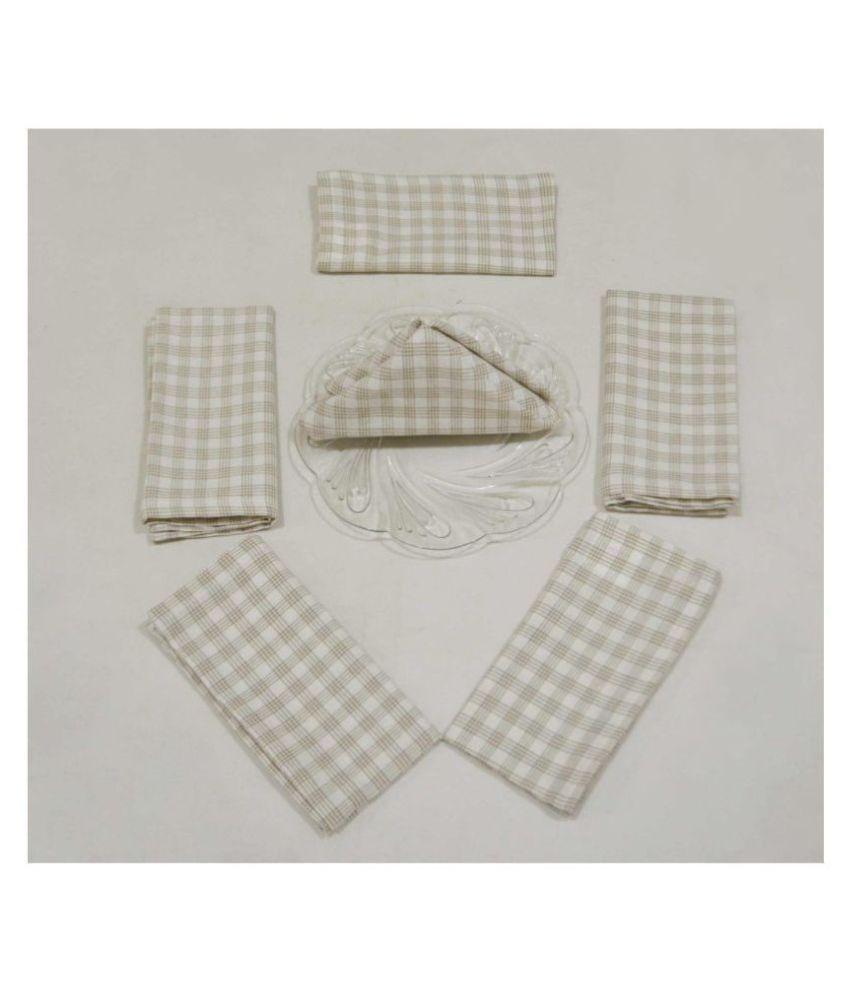 R home Set of 6 Cotton Napkin