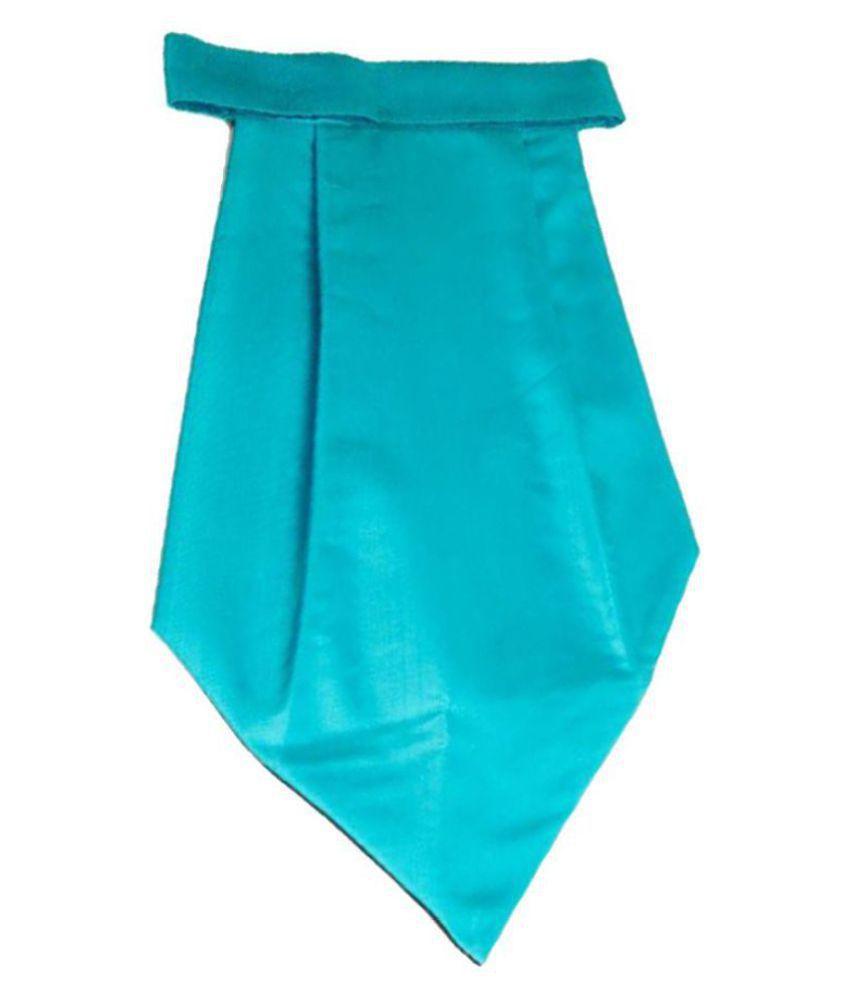 The Vatican Blue Plain Silk Cravats