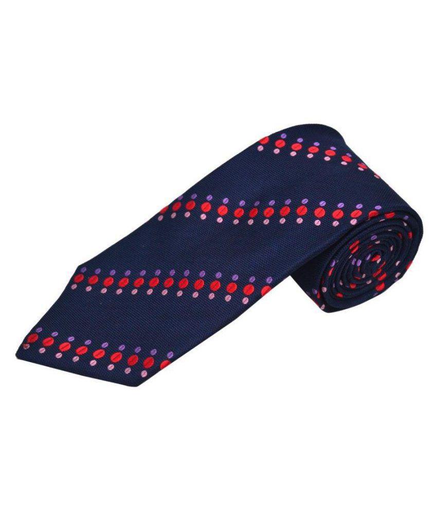 The Vatican Blue Stripes Silk Necktie