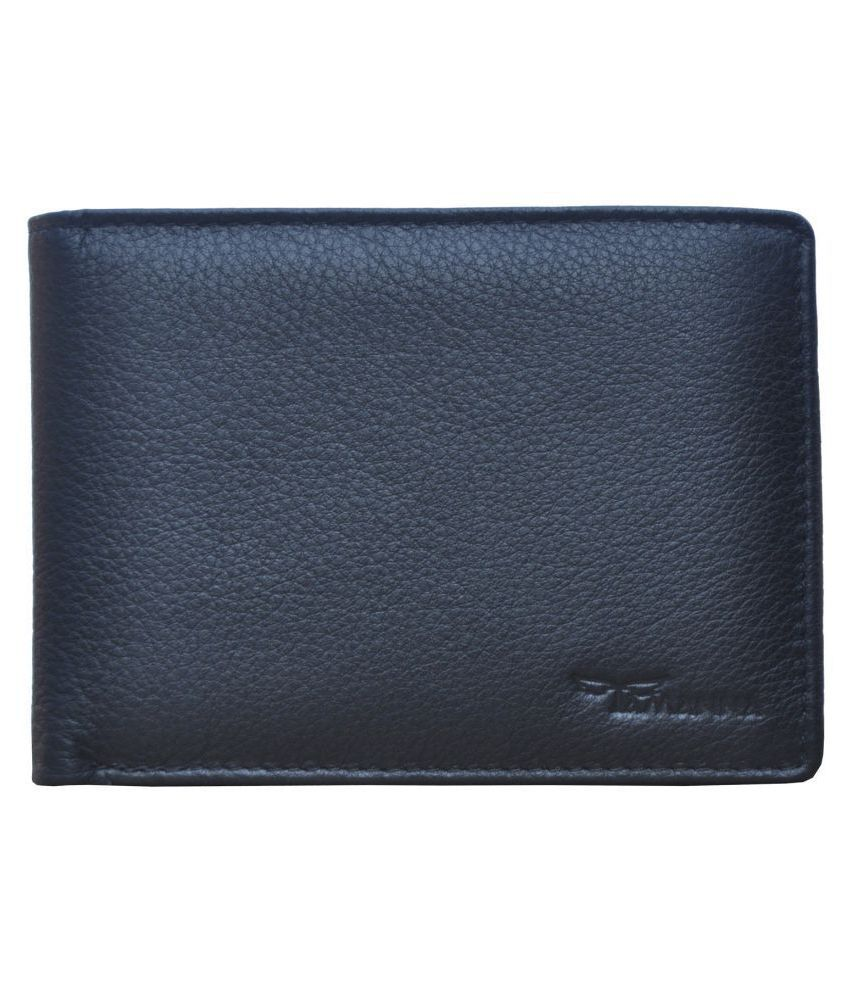Tamanna Leather Brown Formal Money Clipper