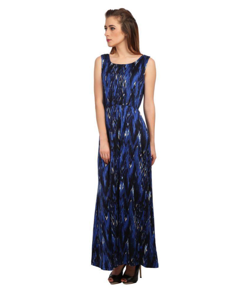 Taaruush Polyester Multi Color Regular Dress