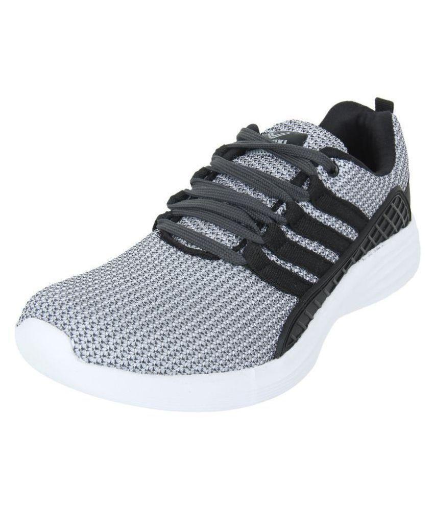 YUUKI BOSKO Gray Running Shoes