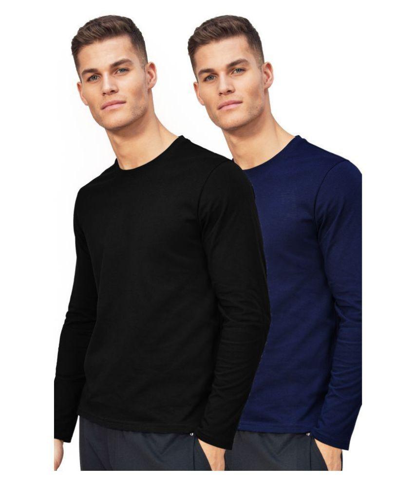 ESPARTO 100 Percent Cotton Multi Solids T-Shirt